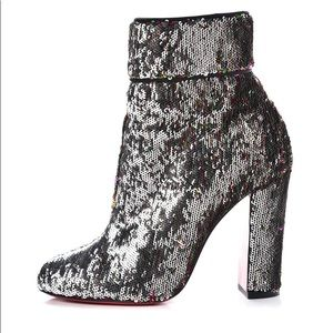 Christian Louboutin Moulamax sequined ankle boot